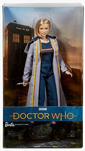 Barbie FXC83 Colector Doctor Who - Muñeca con Destornillador sónico