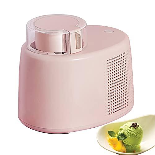ICCI Gelatiera e Yogurtiera Autorefrigerante, Macchina per Gelato, Senza Pre-congelamento, Tenere al Freddo per 6 Ore