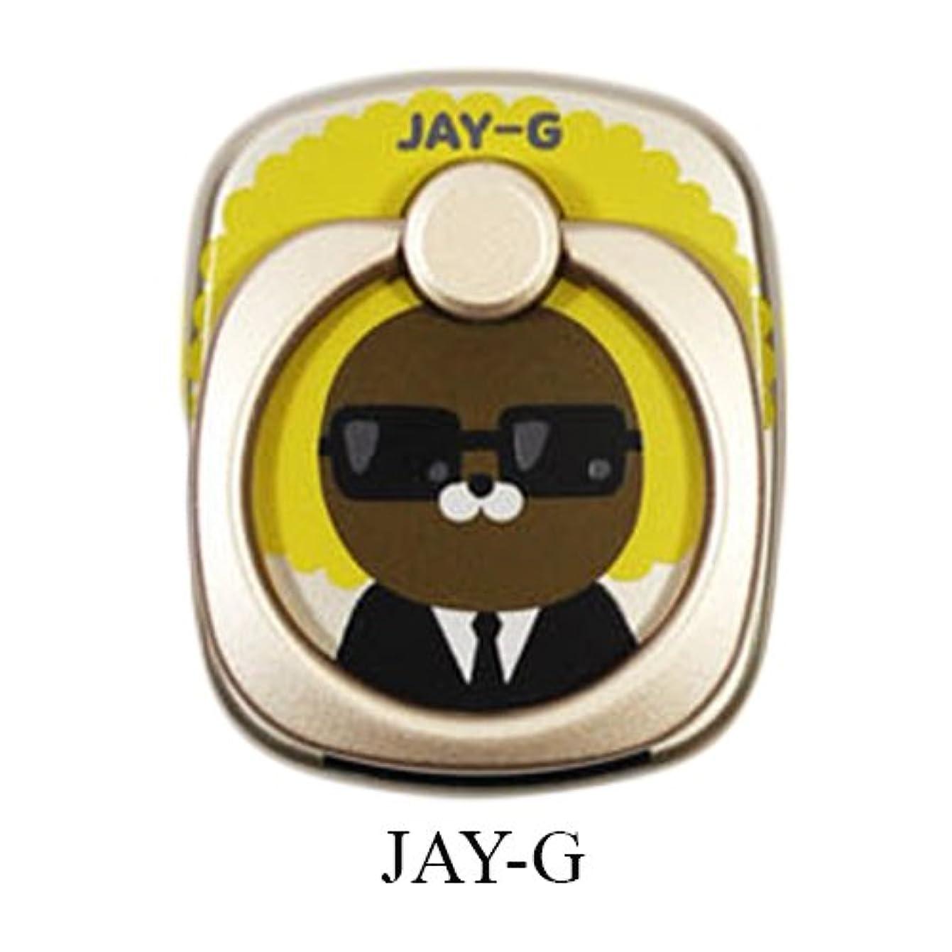 ハチ壊す流暢Kakao Friends カカオフレンズ スマートリング スマホリング スマホホルダー /Kakao Friends Smart Ring[海外直送品] (JAY-G) [並行輸入品]