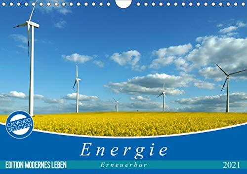 Energie - erneuerbar - Biomasse (Wandkalender 2021 DIN A4 quer)