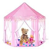 Gunolye Kinderspielzelt,Prinzessin Castle Spielzelt,Indoor Kinder Spielhaus ,Mädchen Großes...