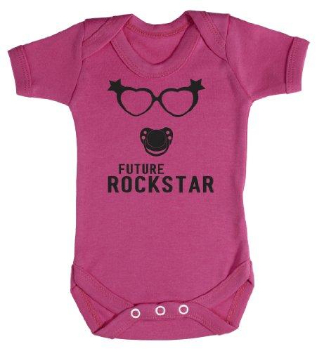 Baby Buddha - Future Rockstar Girl Bodys bébé 0-3 Mois Rose