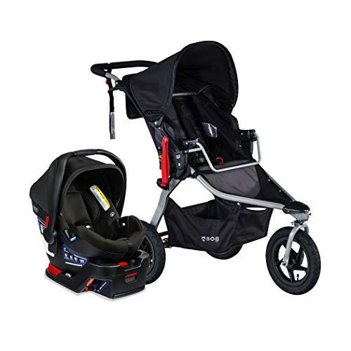 BOB Gear Rambler Travel System with B-Safe Gen2 Infant Car Seat, Black