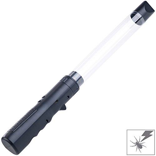 Exbuster Insektensauger: Akku Insekten- & Spinnen-Sauger/Vernichter mit Stromgitter, Leuchte (Fliegen Sauger)