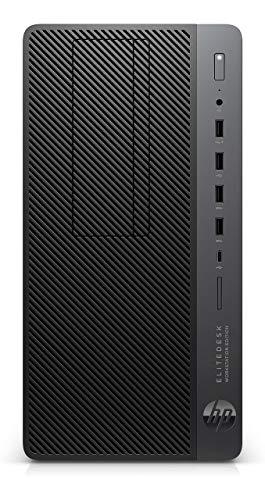 HP EliteDesk 705 G4 Workstation - AMD Ryzen 7 PRO 2700X (8 Core) 3.70 GHz, 16GB DDR4, 512GB SSD, NVIDIA WX3100 4GB, Win 10 Pro, Tower (Renewed)