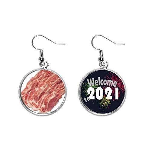 Pingente de orelha com textura de carne crua para alimentos e carne crua 2021 Blessing