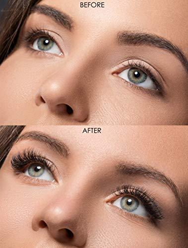 MAMAIA Natural Eyelash Growth Serum - Natural Eyebrow Growth Serum - Natural Ingredients Promotes Longer and Thicker Eyelashes and Eyebrows