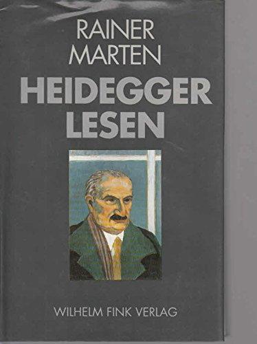 Heidegger lesen
