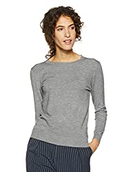 QUBE BY FORT COLLINS Womens Sweater (CH101_Grey_M)