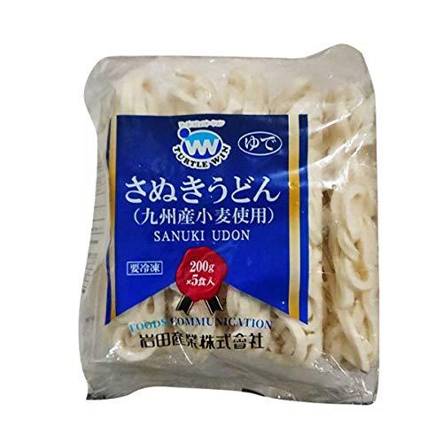 【冷凍】TW印 さぬきうどん 200g×5食入 業務用 冷凍麺 冷食 5人前 うどん