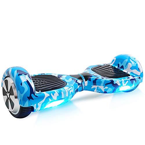 BEBK Hover Board 6.5' Smart Self Balance Scooter Elettrico Autobilanciato...