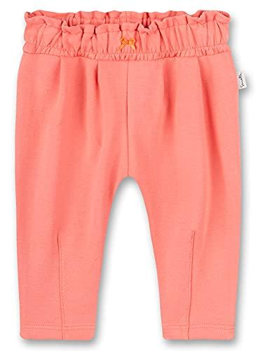 Sanetta Baby-Mädchen Hose aus Strickstoff rosa Freizeithose, Light pink, 86