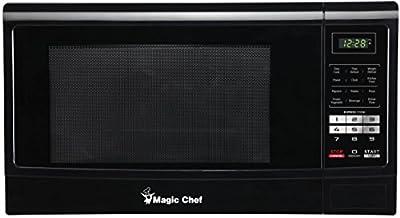 Magic Chef MCM1611B 1100W Oven, 1.6 cu. ft, Black Microwave