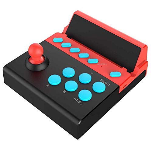 Bluetooth 4.0 Arcade Fighting Joystick Controller Tableta Smart TV Android IOS Mobile