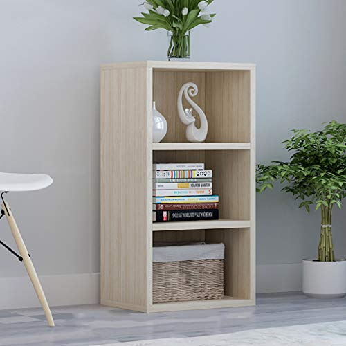 GLJJQMY Estantería Simple Estante para Libros estantería estratificada estantería de Libros estanterías de Almacenamiento 40x24x73cm librero (Color : B)