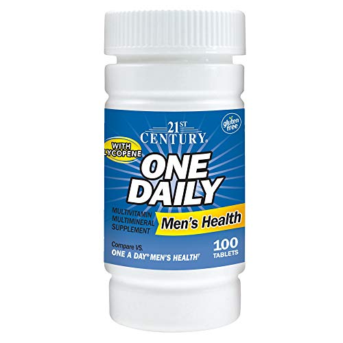 21st Century One Daily Men's Health Tablets, 100 Count