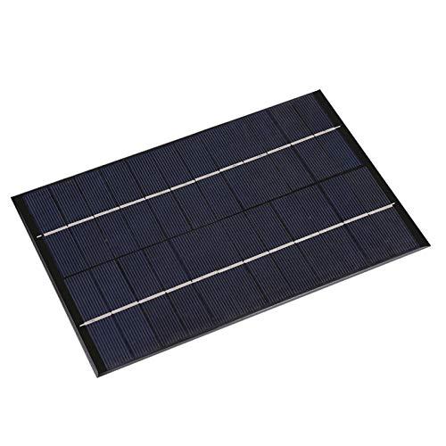 wosume Panel Solar policristalino, Panel Solar portátil DIY de 4,2 W y 12 V, Piezas eléctricas para Bombas de Agua solares, Sistemas de energía Solar