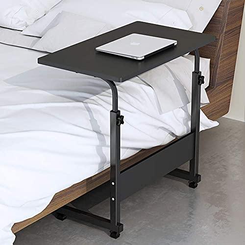 FGDSA Mesa de Ordenador portátil Escritorio de pie Escritorio Moderno para portátil Estación de Trabajo Elevador de Altura Escritorio de Escritorio Ajustable Escritorio Negro 80x40cm (31x16 Pulgadas)
