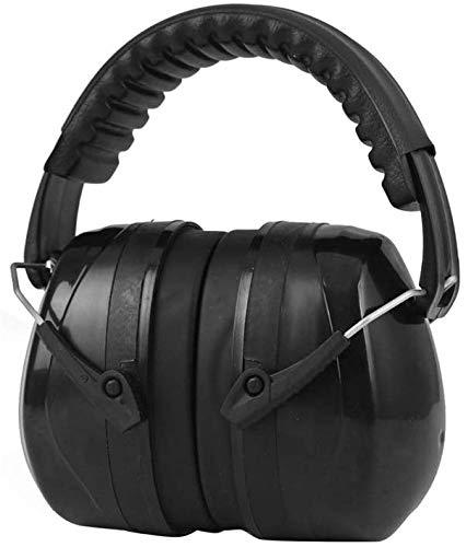 Ohrenschützer Ohrenschützer, geräuschreduzierendes Stirnband mit Ohrenschützern , Geeignet für Konstruktion, Fitness, Lernen, In DREI Farben erhältlich (Farbe: Schwarz)