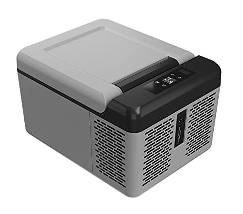 Refrigerador Automóvil, Refrigerador Portátil 9L, Refrigerador Compresor Pequeño Doble Uso Con Adaptador, Adecuado Para Familias, Al Aire Libre, Viajes, Camping, ( Color : A , Size : 12v 110V 220V )