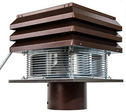Extractor de humo Extractores de humo para chimeneas para barbacoa Aspirador de humos para chimenea extractor de chimenea modelo Base redondo de 20 cm 200 mm