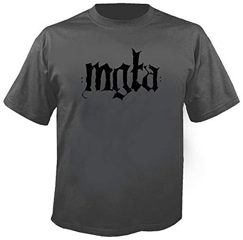MGLA - No Solace - Cahrcoal - T-Shirt Größe S