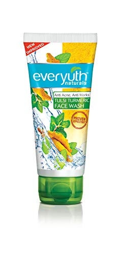 Everyuth Naturals Advanced Clear Beauty Tulsi Turmeric Face Wash