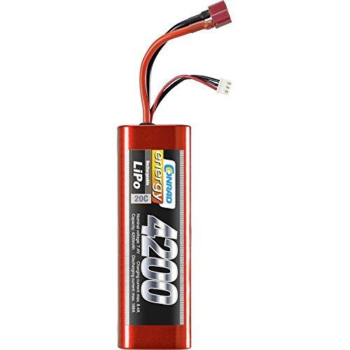 Conrad energy 7,4V 4200 MAH 20 C ECO-LINE LIPO AKKU