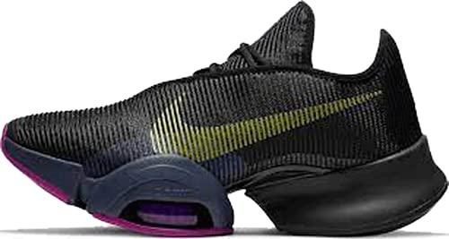 Nike Wmns Air Zoom SUPERREP 2, Zapatillas Deportivas Mujer, Black Cyber Red Plum Sapphire Thunder Blue Hyper Violet, 39 EU