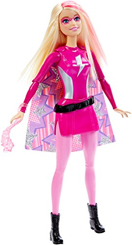 Barbie DHM59 Superheldin Sortiment Strom, pink