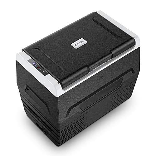 CalmDo 37QT Compressor Car Refrigerator RV Portable Fridge Cooler Mini Freezer for Picnic, Fishing, Home and Travelling