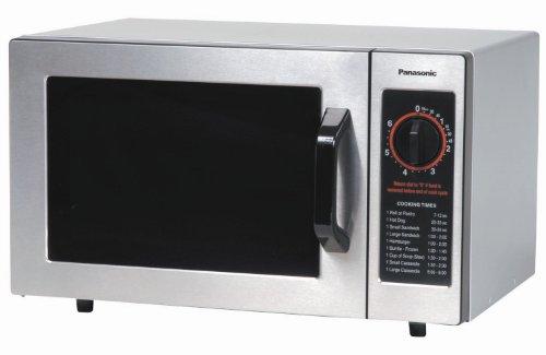 Panasonic NE-1024F 1000-Watt Stainless Steel Commercial Microwave
