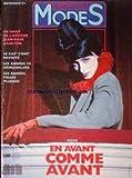JARDIN DES MODES [No 153] du 01/11/1991 - J.PAUL GAULTIER - LE CAF' CONC' REVISITE - LES ANNEES 30 DESHABILLEES - LES ANNEES FOLLES PLUMEES.