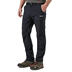 Montane Men's Terra Pack Pant, Black, L