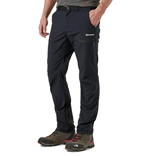Montane Men's Terra Pack Pant, Black, L