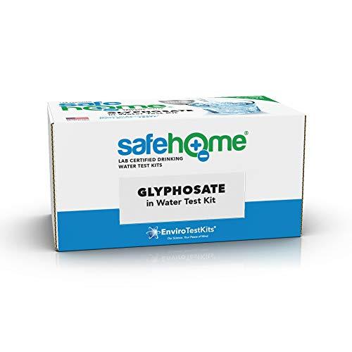 Safe Home GLYPHOSATE im Trinkwasser Testkit - Getestet in unserem EPA zertifizierten Labor - Glyphosat wird vom W.H.O als Karzinogen klassifiziert. und findet sich in Herbiziden wie ROUNDUP