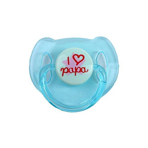 Eternitry Nuevos Accesorios para chupetes de muñecas, nuevos muñecos de bebé reconfortantes y reconfortantes.