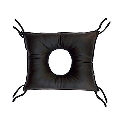 Cojín antiescaras cuadrado con agujero de poliuretano 46 x 44 x 10 cm