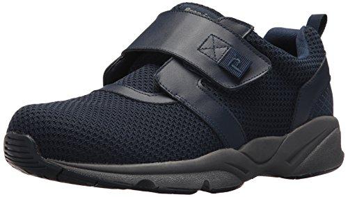 Propet Men's Stability X Strap Sneaker, Navy, 7 Medium