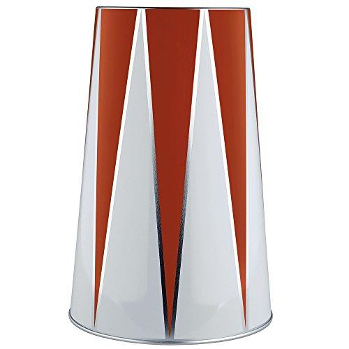 Alessi Circus Vakuum Flaschenkühler, Weißblech, Weiß, 15.8 x 15.8 x 25 cm