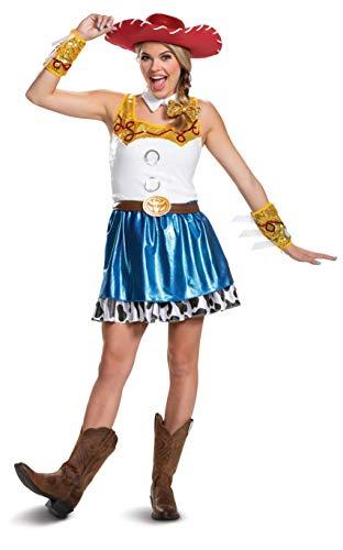 Jurk kostuum Jessie Toy Story Glam voor vrouw