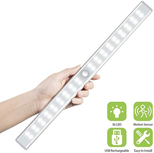 OxyLED Motion Sensor Closet Lights + 36 LED Closet Lights