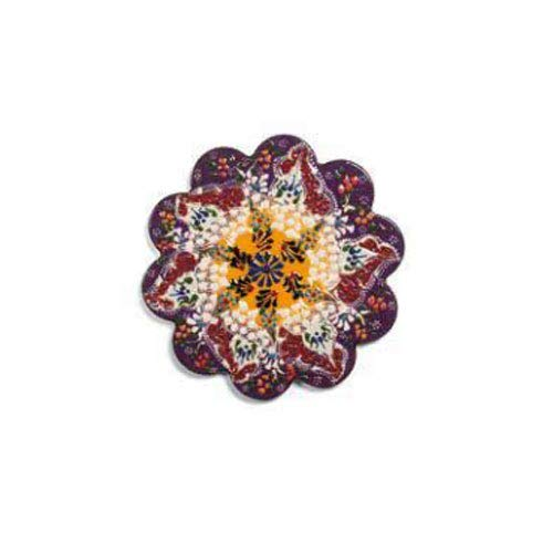 Salvamanteles de cerámica Instanbul Violeta WD LifeStyle