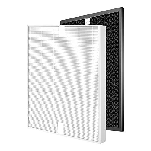 ZHWLOVE Filtro DE PURIFICADOR DE Aire FIT DE Repuesto para ELECTROLUX EAP150 / EAC203 / EAC215 / EAC103 / EAC003 Conjunto de Filtro de carbón Activado y HEPA (Color : Hepa and Carbon)