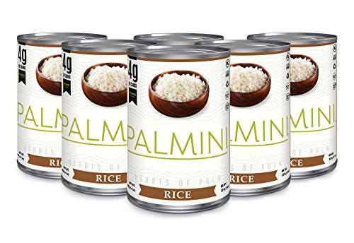 Palmini Low Carb Rice | 4g of Carbs | As Seen On Shark Tank | Gluten Free (14 Ounce (Pack of 6))
