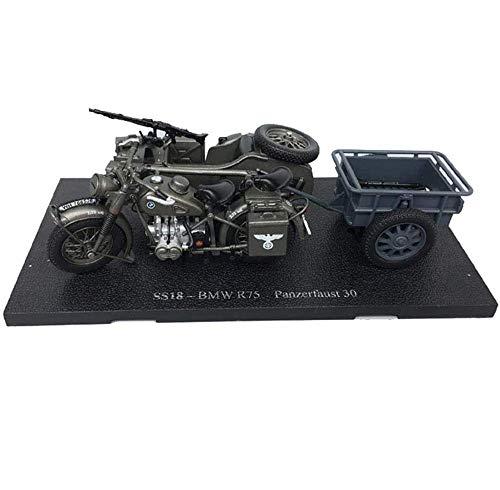 Yxxc Kits de Motor Modelo 1:24 Escala Modelo de plástico de Tanque Fundido a presión, Triciclo Militar alemán R75, Juguetes y Regalos Militares, 6,3 Pulgadas x 5,5 Pulgadas