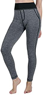 Womail 2019 Women False Pocket Gym Yoga Running Fitness Leggings Pants Athletic Trouser Femme Sports Clothing Training Pants : Black, L, China