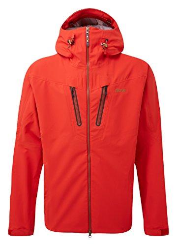 Sherpa Herren 's Lithang Jacket Coat XL Tibetan Coral