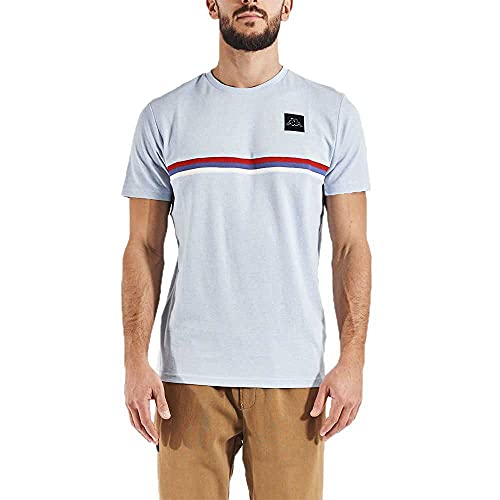 Kappa IBISSO T-Shirt, Blu, L Uomo