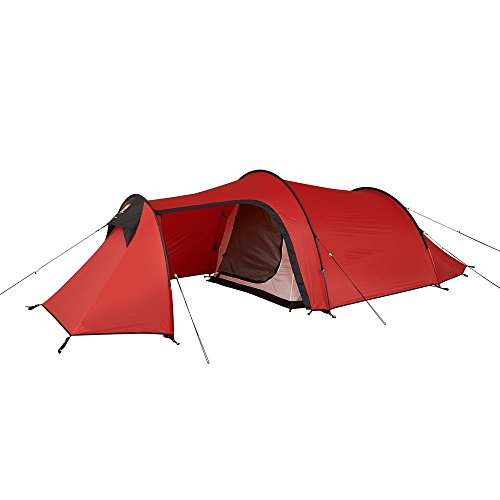 Wild Country tenten Unisex volwassenen Blizzard 3 wild land Bilzzard 3 tent, rood, een maat